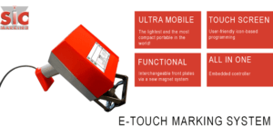 sic e-touch dot peen marking